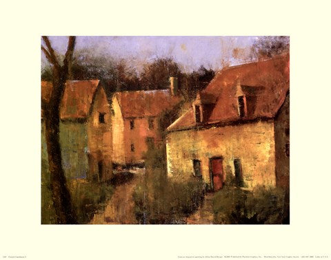 FRENCH FARMHOUSE I By Jillian David-Art Print-Style Home Art