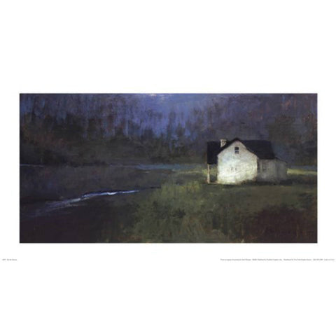 BY THE STREAM By Seth Winegar-Art Print-Style Home Art