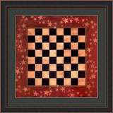 AMERICANA CHECKERS By Lisa Spicer-Style Home Art