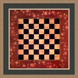 AMERICANA CHECKERS By Lisa Spicer-Art Print-Style Home Art