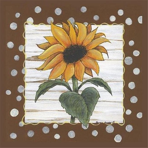 POLKA DOT SUNFLOWER By Bonnee Berry