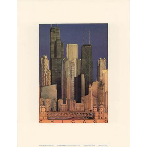 CHICAGO By Craig Holmes-Art Print-Style Home Art