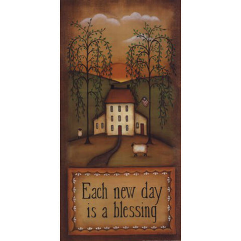 EACH NEW DAY By Kim Lewis-Art Print-Style Home Art