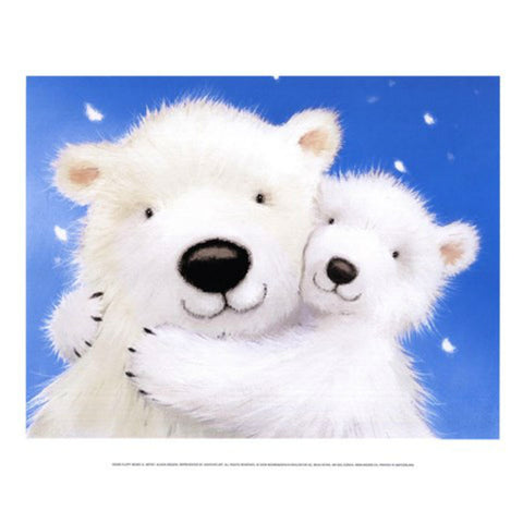 FLUFFY BEARS IV By Alison Edgson-Art Print-Style Home Art