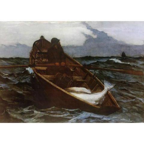 THE FOG WARNING By Winslow Homer-Art Print-Style Home Art