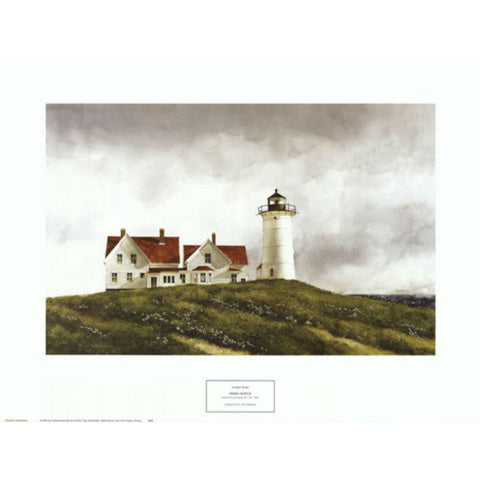 FERRY WATCH By Douglas Brega-Art Print-Style Home Art