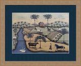 THE GENTLEMAN'S FARMER By Donna Atkins-Art Print-Style Home Art