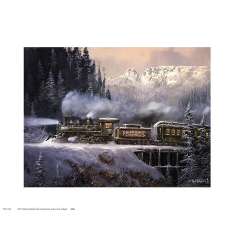 HARDPULL TO ORWAY BY Ted Blaylock-Art Print-Style Home Art