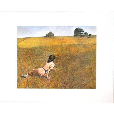 CHRISTINA'S WORLD By Andrew Wyeth-Style Home Art