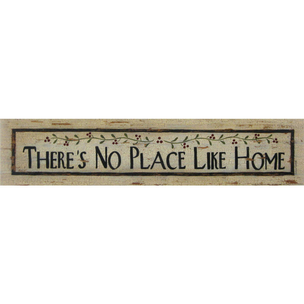 THERE'S NO PLACE LIKE HOME By Linda Spivey-Art Print-Style Home Art