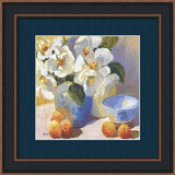 MAGNOLIAS AND PEACHES BY Jennifer Hurley-Art Print-Style Home Art