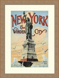 NEW YORK, THE WONDER CITY, 1902 By Irving Underhill-Art Print-Style Home Art