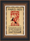 PARIS - 1925 By Robert Bonfils-Art Print-Style Home Art