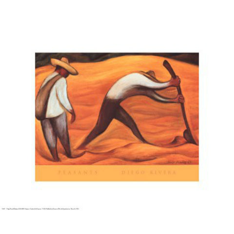 PEASANTS By Diego Rivera-Art Print-Style Home Art