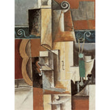 VIOLIN AND GUITAR By Pablo Picasso-Art Print-Style Home Art