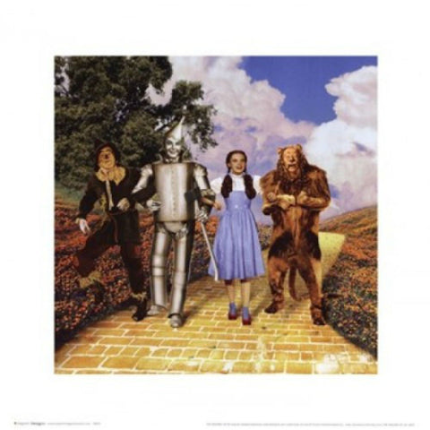 THE WIZARD OF OZ FOURSOME-Art Print-Style Home Art