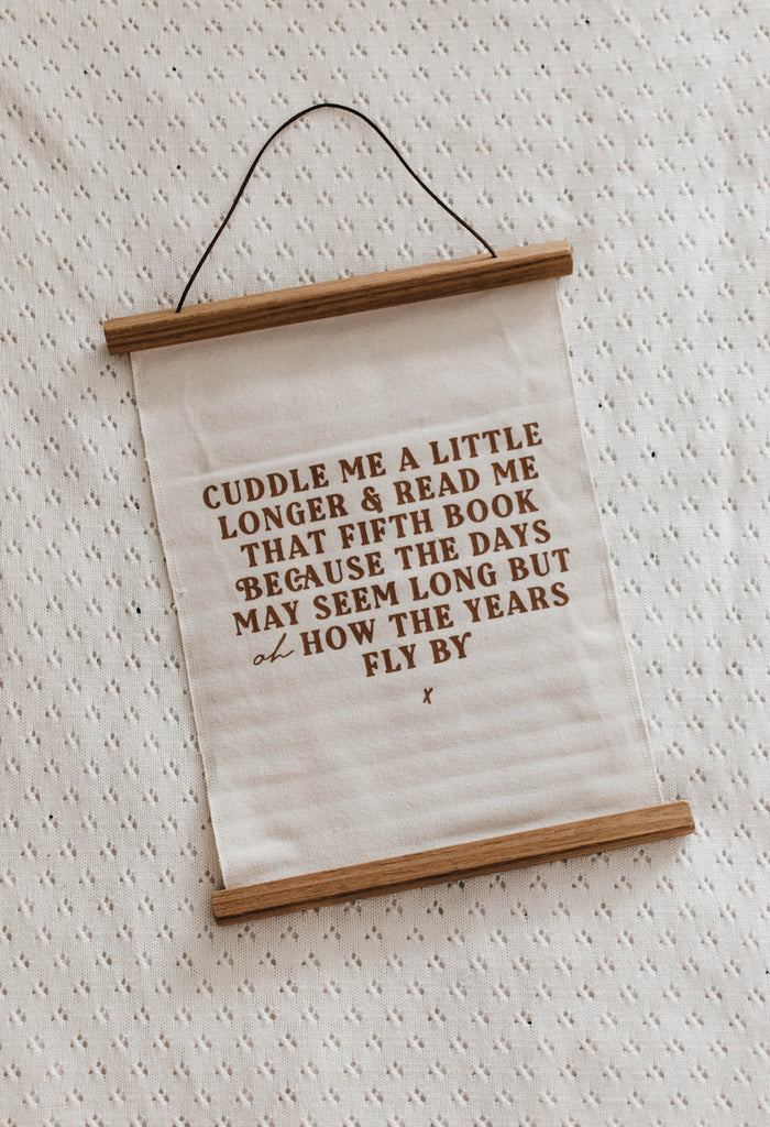 Cuddle me Wall Hanging