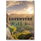 Adventure With Me | 5 x7 Gallery Mini Canvas