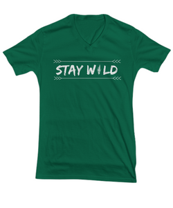 Stay Wild  | Women's Quote T-shirt