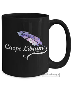 Coffee Mug - Carpe Librum Readers Mug | Seize The Book!