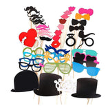 Party Photo Booth Props, Pick From 4 Sets