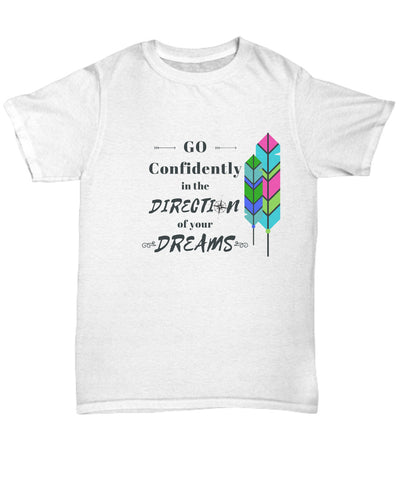 T-shirt - Go Confidently  T-shirt