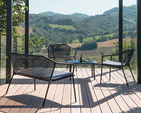 Darwin Ergonomic Steel Patio Furniture - Make your own set!