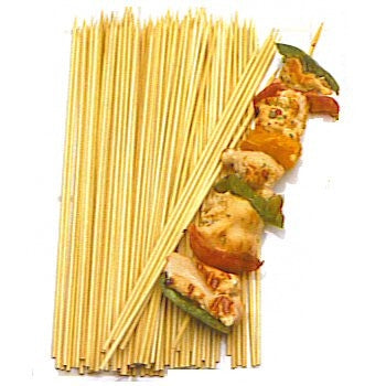 Bbq 12-inch Large Bamboo Skewers 50 Count