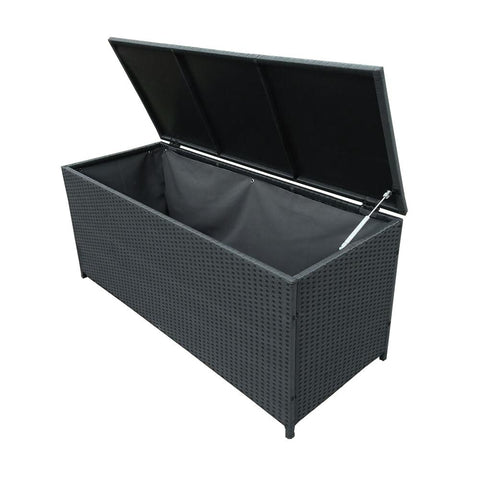 Outdoor / Indoor Wicker Storage Patio Box