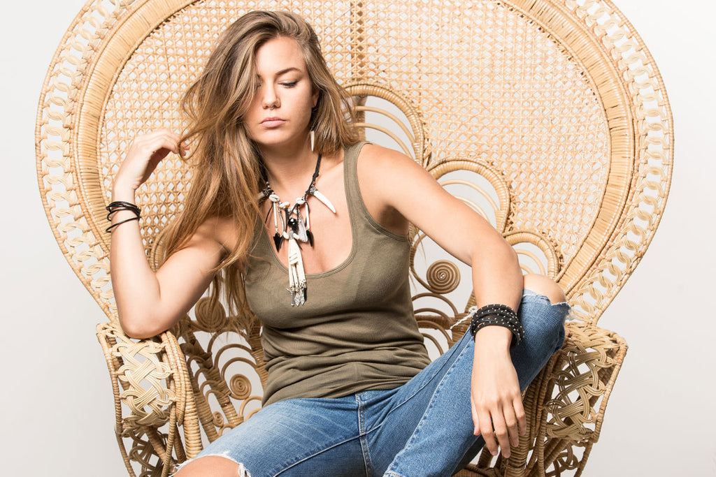 Festival jewellery - boho jewellery with a tribal twist