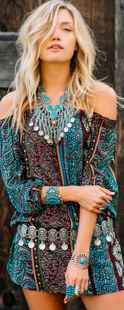 The spirit of Southwestern Native American boho turquoise jewellery lives on