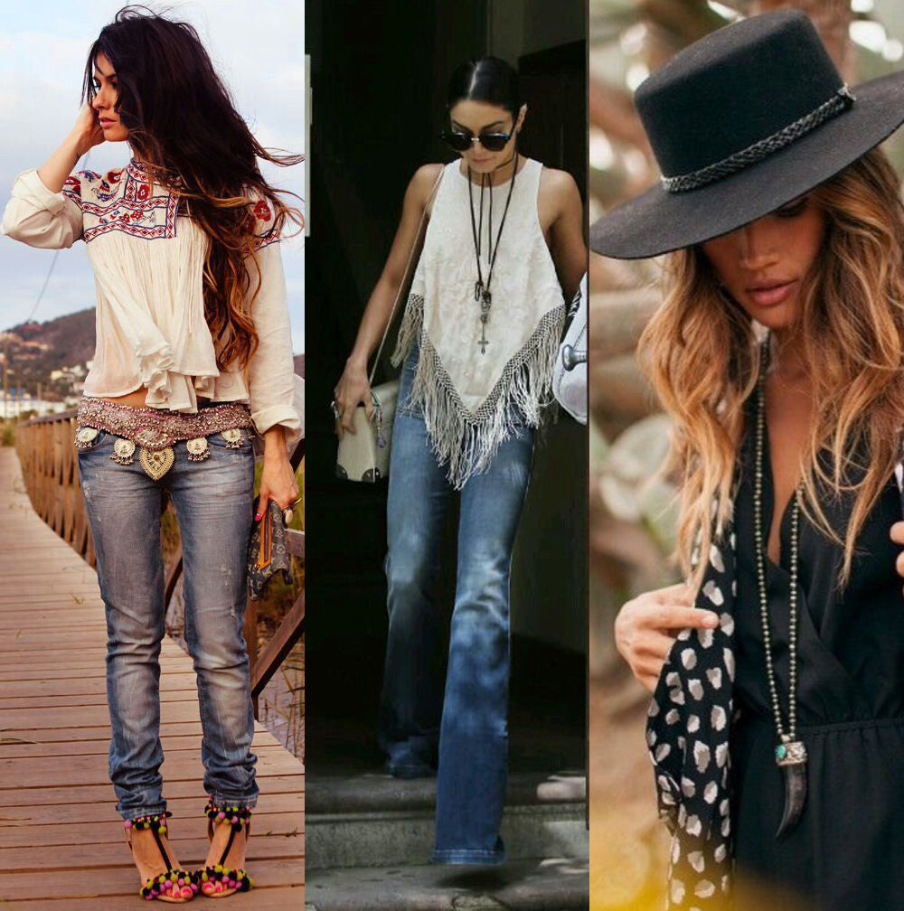Western boho tribal style is this season's must have look
