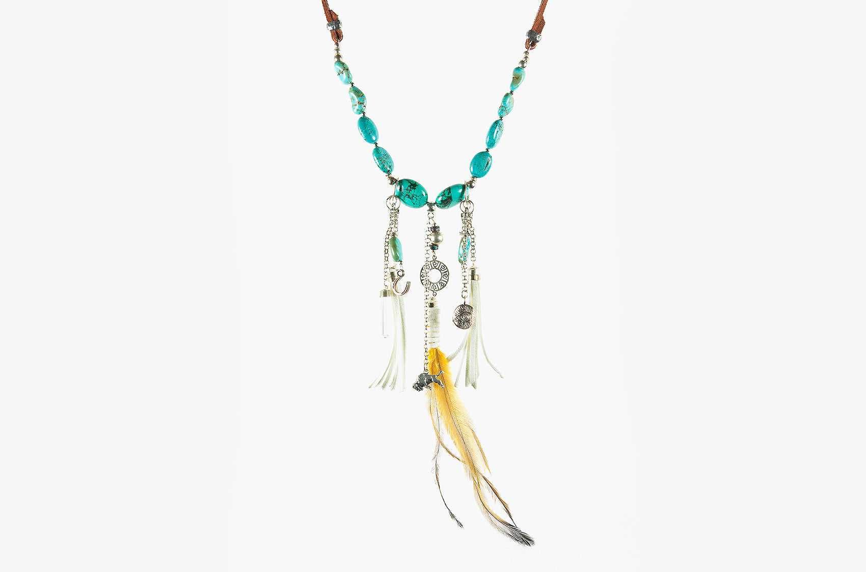 Buffalo Girl Spirit Dreamer necklace