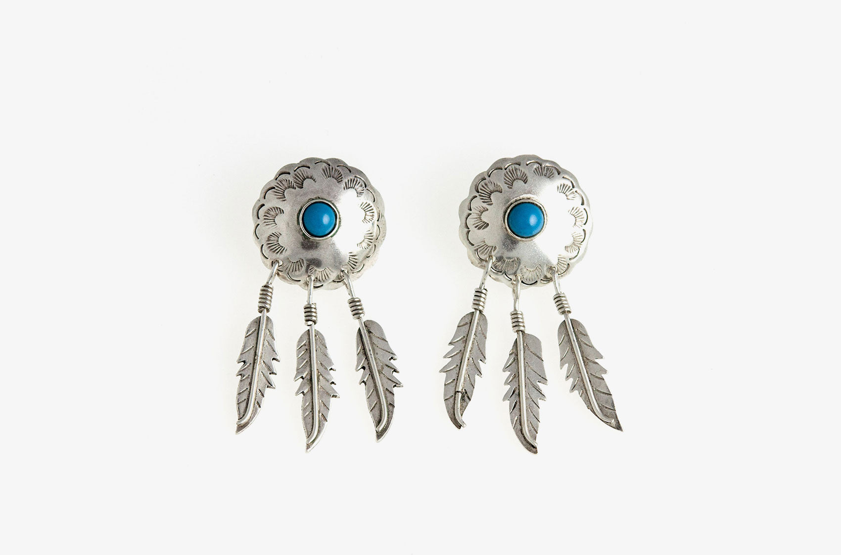 Pocahontas Festival Fave dangly earrings
