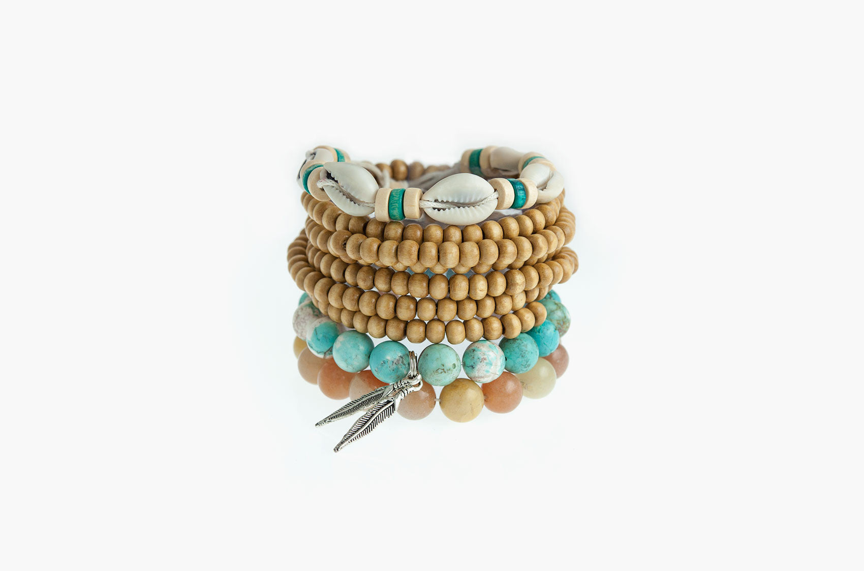Stacked or Separate Bracelet Collection No. 5