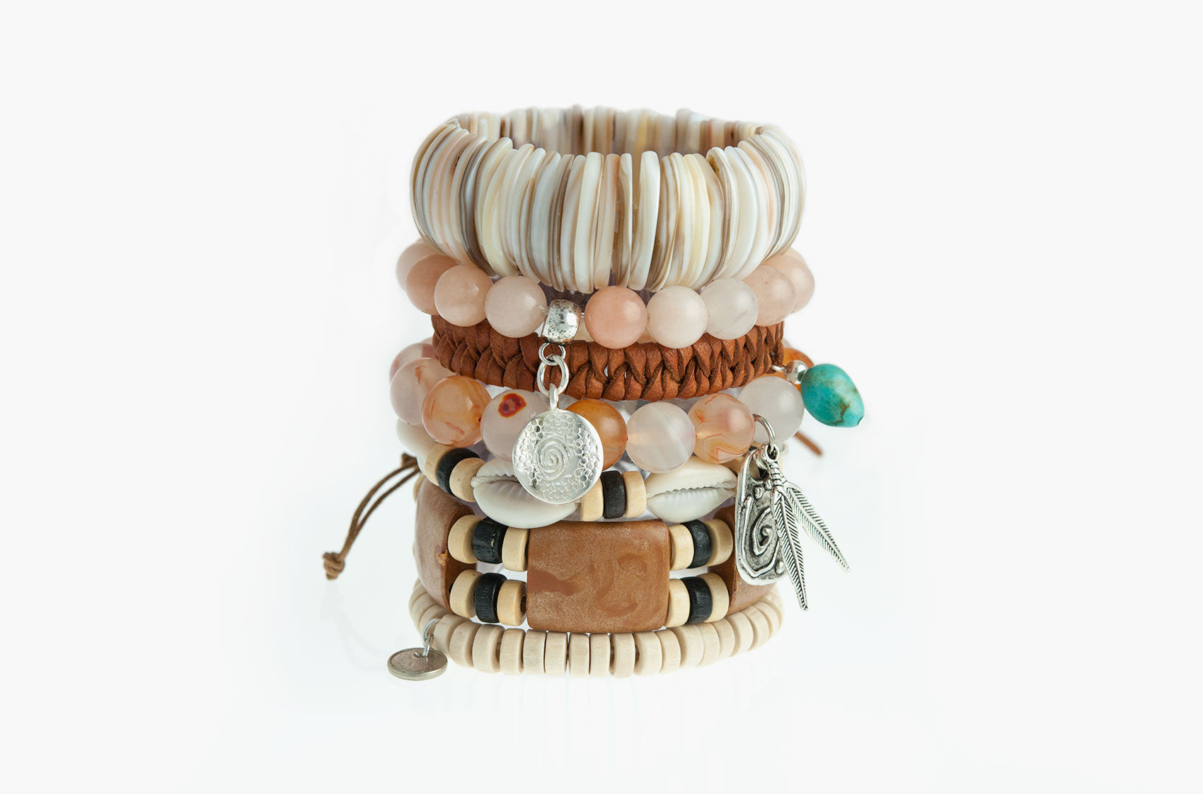 Stacked or Separate Bracelet Collection No. 8