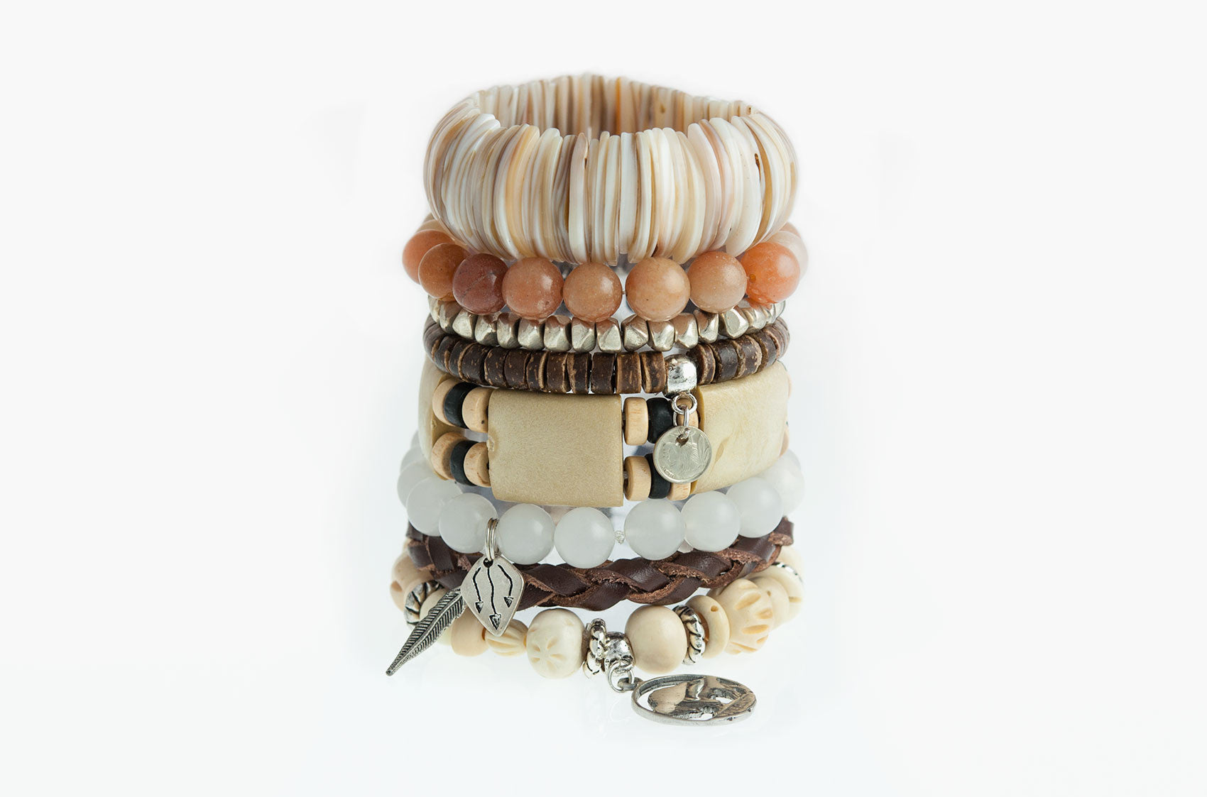 Stacked or Separate Bracelet Collection No. 9