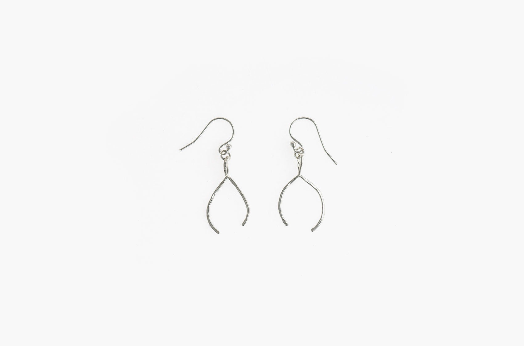 Tribal wishbone earrings