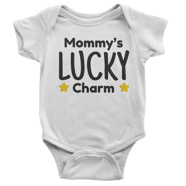 Mommy's Lucky Charm Onesie