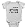 Made Atom Awesome Onesie