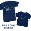 Big/ Little Dipper Shirt Set