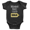 Liquid Gold Onesie