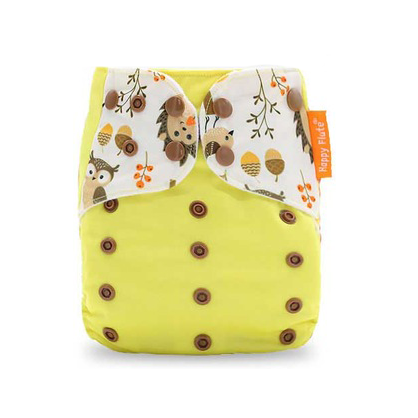 Pocket Diaper - Yellow Woods