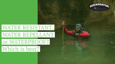 WATER RESISTANT, WATER REPELLENT or WATERPROOF? Which is best?
