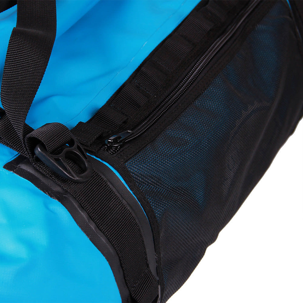 Bundle Special Mammoth Series Waterproof Duffle Bag-Blue-90 Liter+BLACK FRIDAY PHONE POUCHES