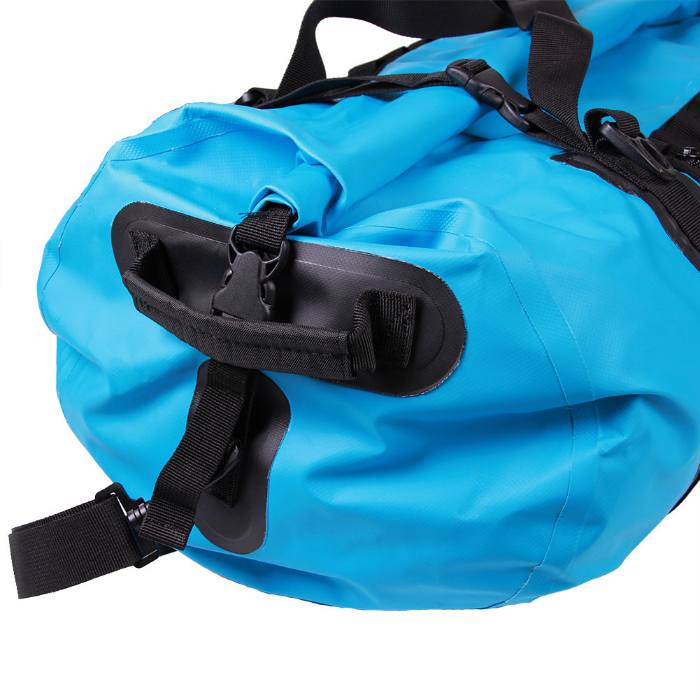 Bundle Special Mammoth Series Waterproof Duffle Bag-Blue-60 Liter+BLACK FRIDAY PHONE POUCHES