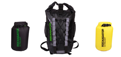 Bundle Special Firebreak Ultralight 25-Liter Waterproof Backpack and 2 Bonus Dry Bags+BLACK FRIDAY BONUS PHONE POUCHES