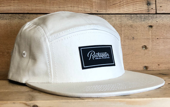 Rockagator LIFEstyle 5-Panel Strapback Waxed Canvas Hat