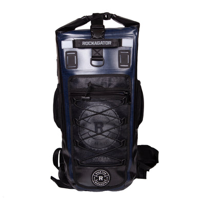 KODIAK Black & Blue 40-Liter TPU Extreme Weather Waterproof Backpack