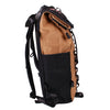 Bundle Special Rockagator LIFEstyle Phoenix Waxed Canvas Roll-Top Backpack and 2 Waterproof Phone Pouches (TAN)
